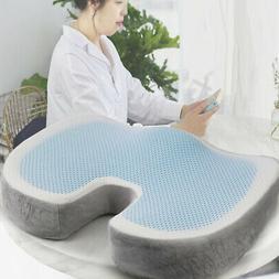 Portable Memory Foam Gel Seat Cushion Pain Relief Pad Home O