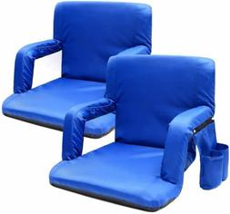 Sportneer Portable Stadium Seat Chair with Padded Cushion Sh