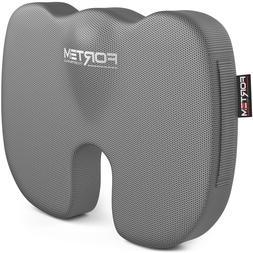 FORTEM Office Chair Seat Cushion, Orthopedic Memory Foam Sup