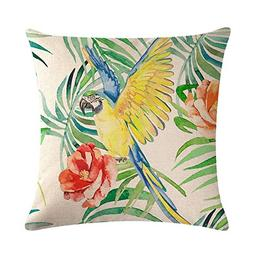 YaMiFan Hot Rainforest Animal Pillowcase Fashion Home Room S