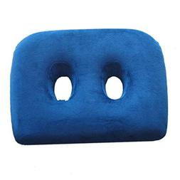MEIZOKEN Rebound Cushion Two Holes Seat cushion Memory Foam