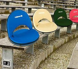 Reclining Seat Padded Cushion Stadium Bleacher Camping Backp