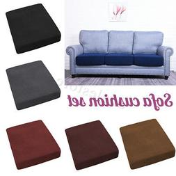 Replacement Sofa Stretchy Seat Cushion Cover Couch Slip cove