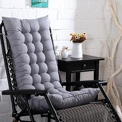 Didihou Rocking Chair Cushions, 1 Piece Soft High Back Seat