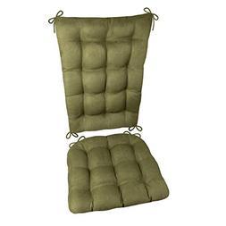 Rocking Chair Cushions - Microsuede Laurel Green Micro Fiber