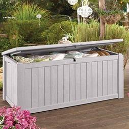 Keter Rockwood Jumbo 150 GL / 570 L White Outdoor Deck Stora