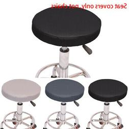 Round|Bistro Chair Cover Cushion|Seat Bar Stool Pad|Kitchen