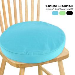 Round Chair Cushion Seat Pads Kitchen Dining REMOVABLE Indoo