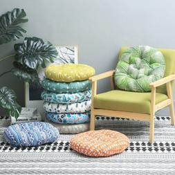 Round Cushion Patio Tatami Meditation Mat Seat Pillow Thicke