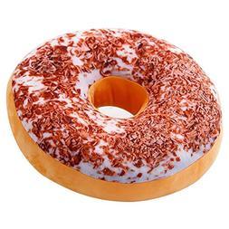 Sothread Round Doughnut Donut Seat Back Stuffed Cushion Thro