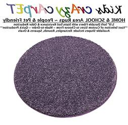 ROUND 4' - MISTY LILAC ~ Kids crAzy cArpET Home & School Are