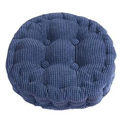 Uther Round Pads Extra Thick Chair Pads Tatami Cotton Seat f