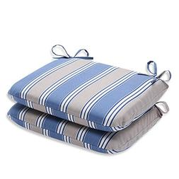 Pillow Perfect Rounded Outdoor Seat Cushion - 18.5 x 15.5 x