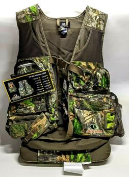 Mossy Oak  Run-n-Gun Turkey Vest w/ Seat Cushion - Blaze Fla