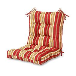 Greendale Home Fashions Seat/Back Combo Cushion, Roma Stripe