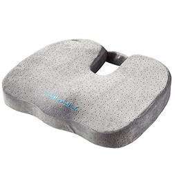 Larnn Seat Cushion, Cool Memory Foam Car Office Chair Seat C