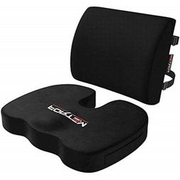FORTEM THE EXTRA MILE Seat Cushion and Lumbar Support For Ca