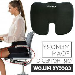 Seat Cushion Cool Gel Memory Foam Chair Pillow Orthopedic Ch