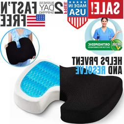 Seat Cushion For Back Pain Coccyx Memory Foam Butt Pillow Ta