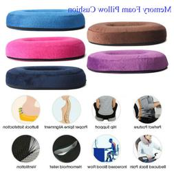 Seat Cushion Gel Pillow Coccyx Orthopedic Memory Foam Cushio