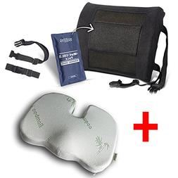 Sillis SEAT CUSHION AND LUMBAR SUPPORT PILLOW BUNDLE Our Bes