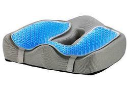 Ziraki Seat Cushion | Memory Foam Orthopedic Luxury  Large C