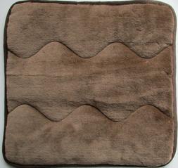 Seat Cushion Pad Chair 15 11/16x15 11/16in 100% Wool Brown W
