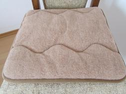 Seat Cushion Padding Chair Pad 15 11/16x15 11/16in 100% Wool