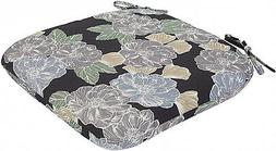 Seat Pad with Floral Pattern Standard Outdoor Dining Chair C