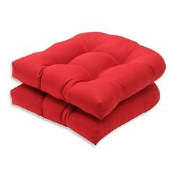 Seat Pillow Cushions Indoor Outdoor Patio Chair Pads Red Sol