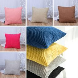 Car Seat Home Decor Throw Pillow Cases Winter Warm Corn velv