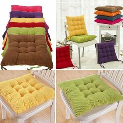 Set of 4 Seat Pads Dining Room Garden Kitchen Chair Cushion