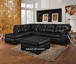 """Acme Furniture Shi 50615 123"""" Sectional Sofa with Left Arm F"""