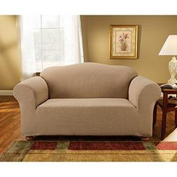Sure Fit Simple Stretch Subway Tile Loveseat Furniture Slipc