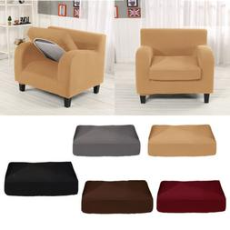 Sofa Chair Love Seat Separate Seat Cushion Cover Elastic Str