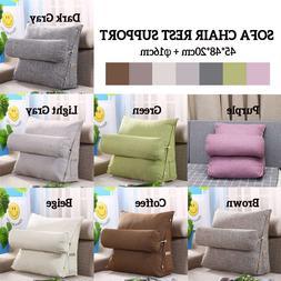 Sofa <font><b>Cushion</b></font> Triangle Back <font><b>Pill