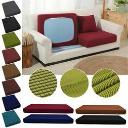 Sofa Stretchy 1-3 Seats Square Cushion Cover Couch Slip cove