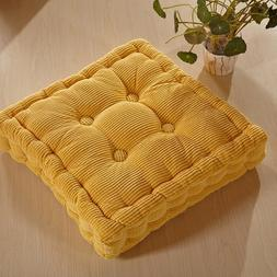 "M MOCHOHOME Soft Corduroy Chair Seat Cushion/Pad - 16"" x 16"""