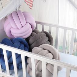 Soft Knot Ball <font><b>Cushions</b></font> <font><b>Bed</b>