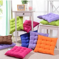 soft square cotton seat cushions home garden