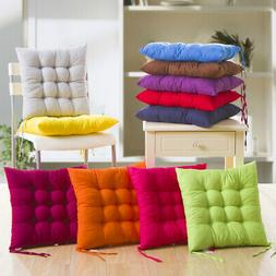 soft thicken pad chair cushion tie on