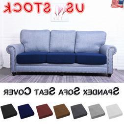 Solid Sofa Seat Cushion Covers Stretch Fabric Cushion Slipco