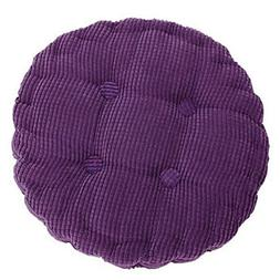 Hoomall Solid Color Warm Winter Corn Lattice Thicken Chair S