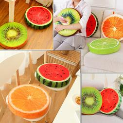 Special 3D Creative Fruit Chair Seat Sofa Plush Pad Cushion