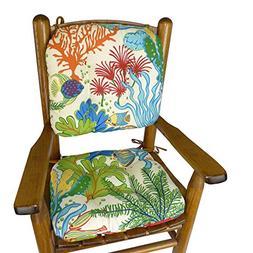 Barnett Products Splish Splash Child Porch Rocker Cushions -