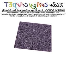 Square 3'x3' - Misty Lilac ~ Kids Crazy Carpet Home & School