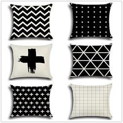 square pillow case home decorative