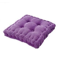 Tuliptown Square Seat Cushion, Polyester Cotton Filled Indoo