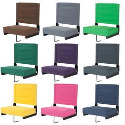 Stadium Arena Bleacher Thick Seat Cushion Chair Portable Fol