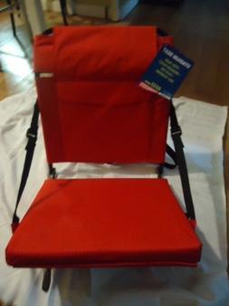 Stadium Folding Seat Padded Foam Chair Bleacher Cushion Foot